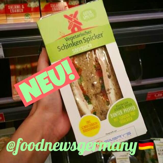 Rügerwalder Mühle Vegetarisches Schinken Spicker Sandwich