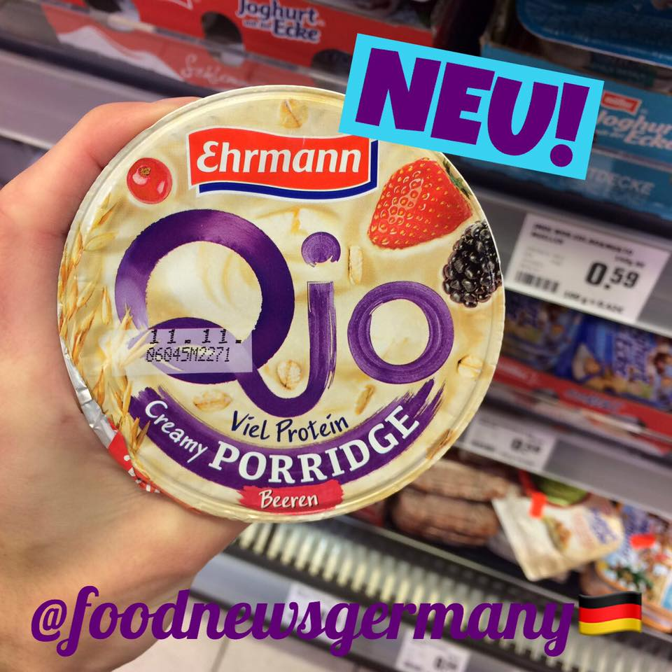 Ehrmann Qjo Porridge