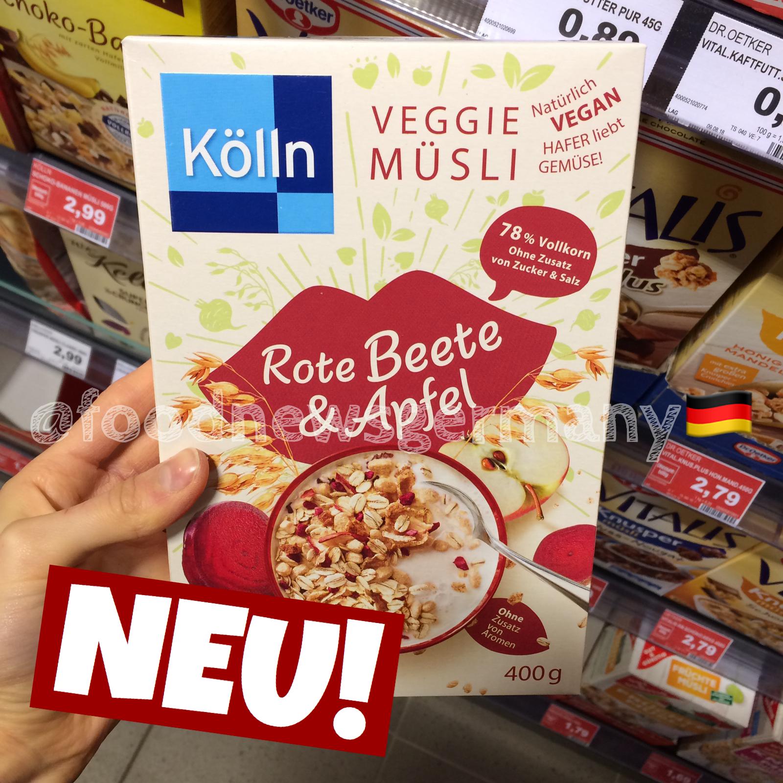 Kölln Veggie Müsli Rote Beete & Apfel