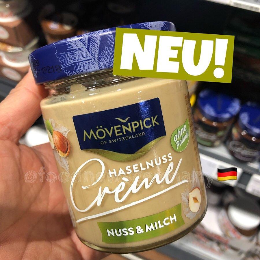 Mövenpick Haselnusscreme Nuss & Milch