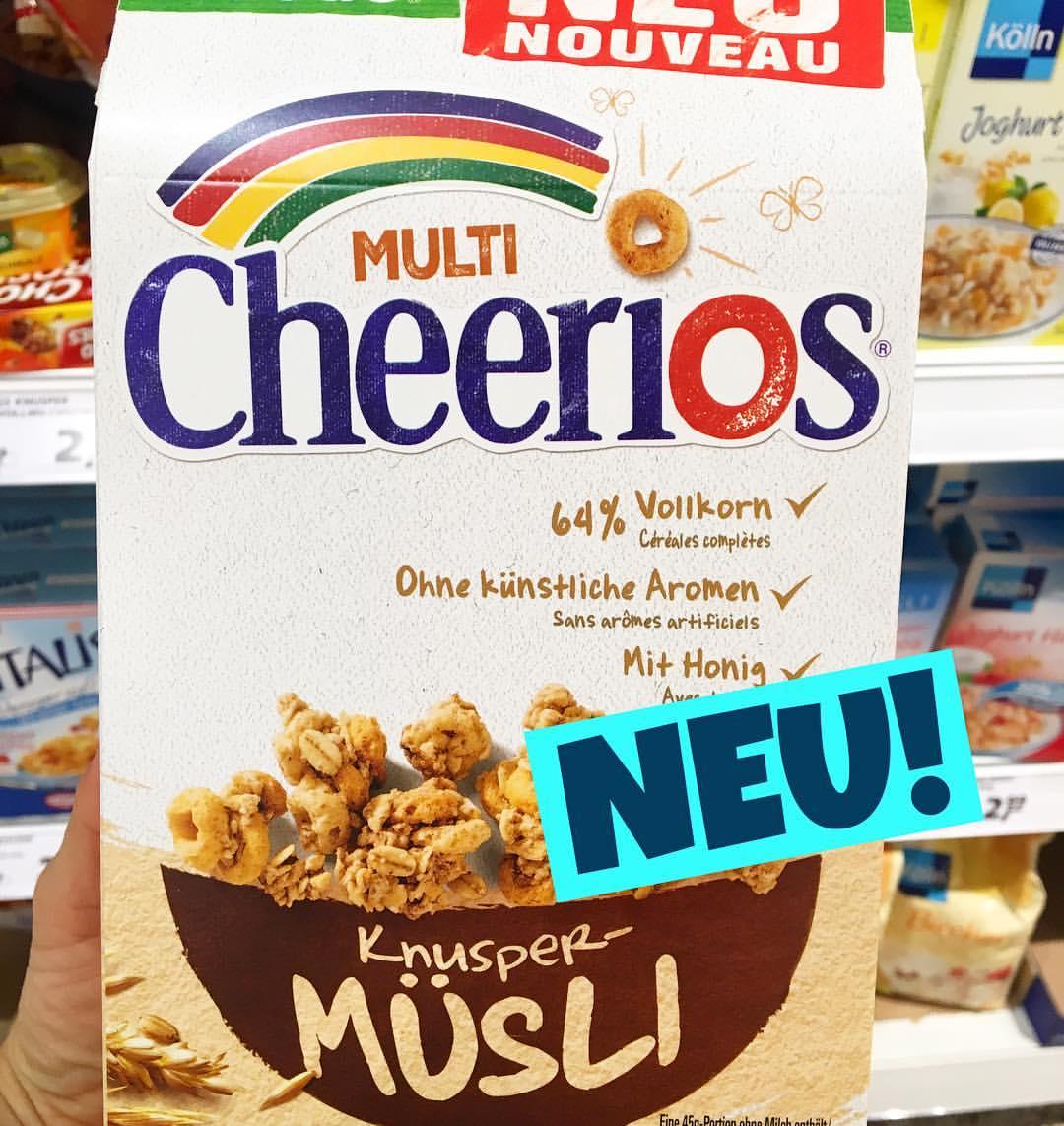 Nestle Cheerios Knusper Müsli
