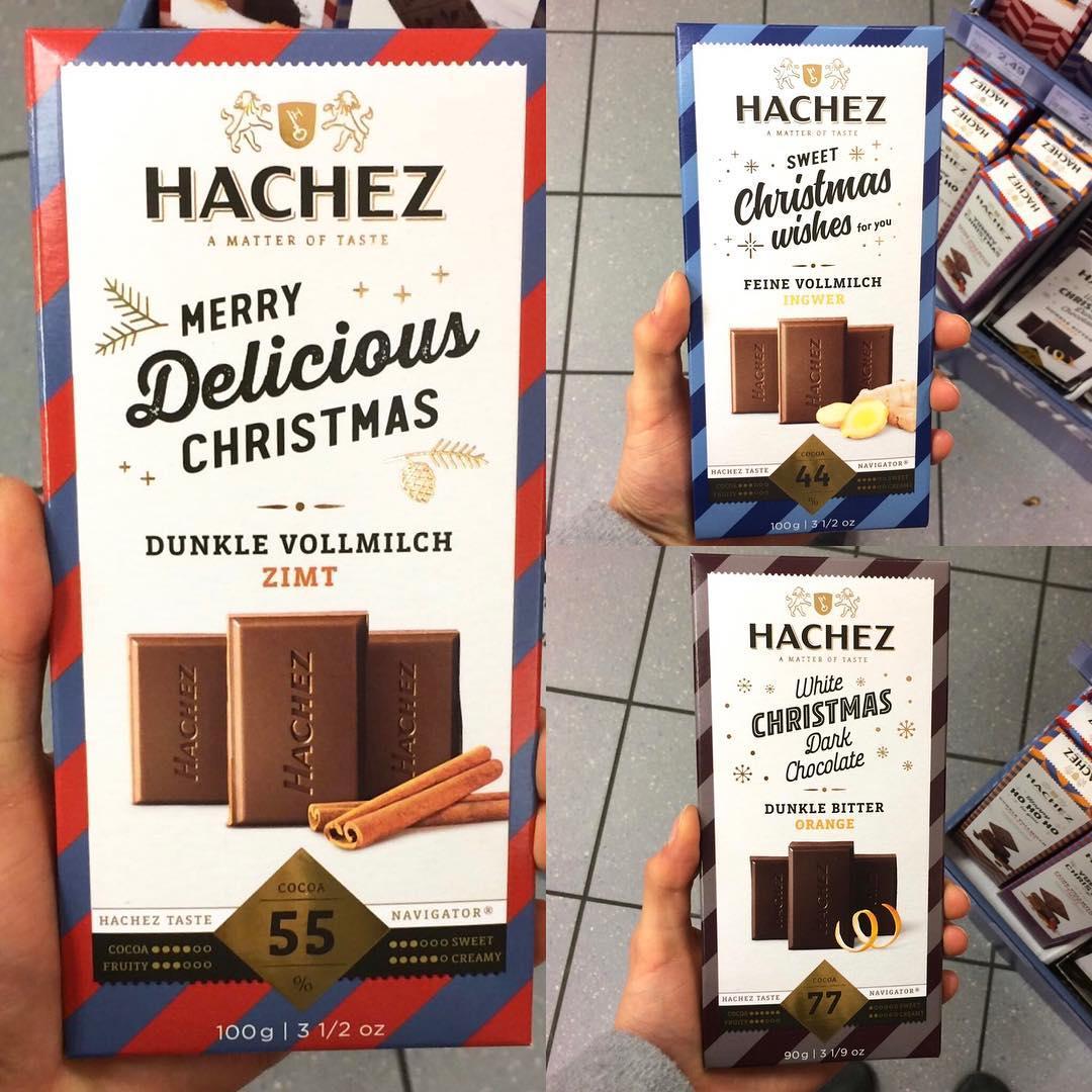 HACHEZ WEIHNACHTS EDITION