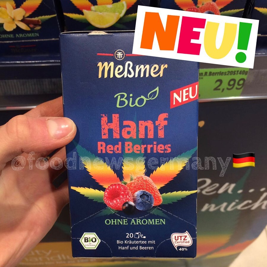 Messmer Bio Tee Hanf