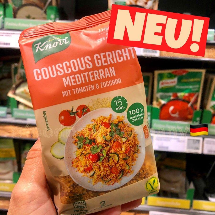 Knorr Coucous Gericht