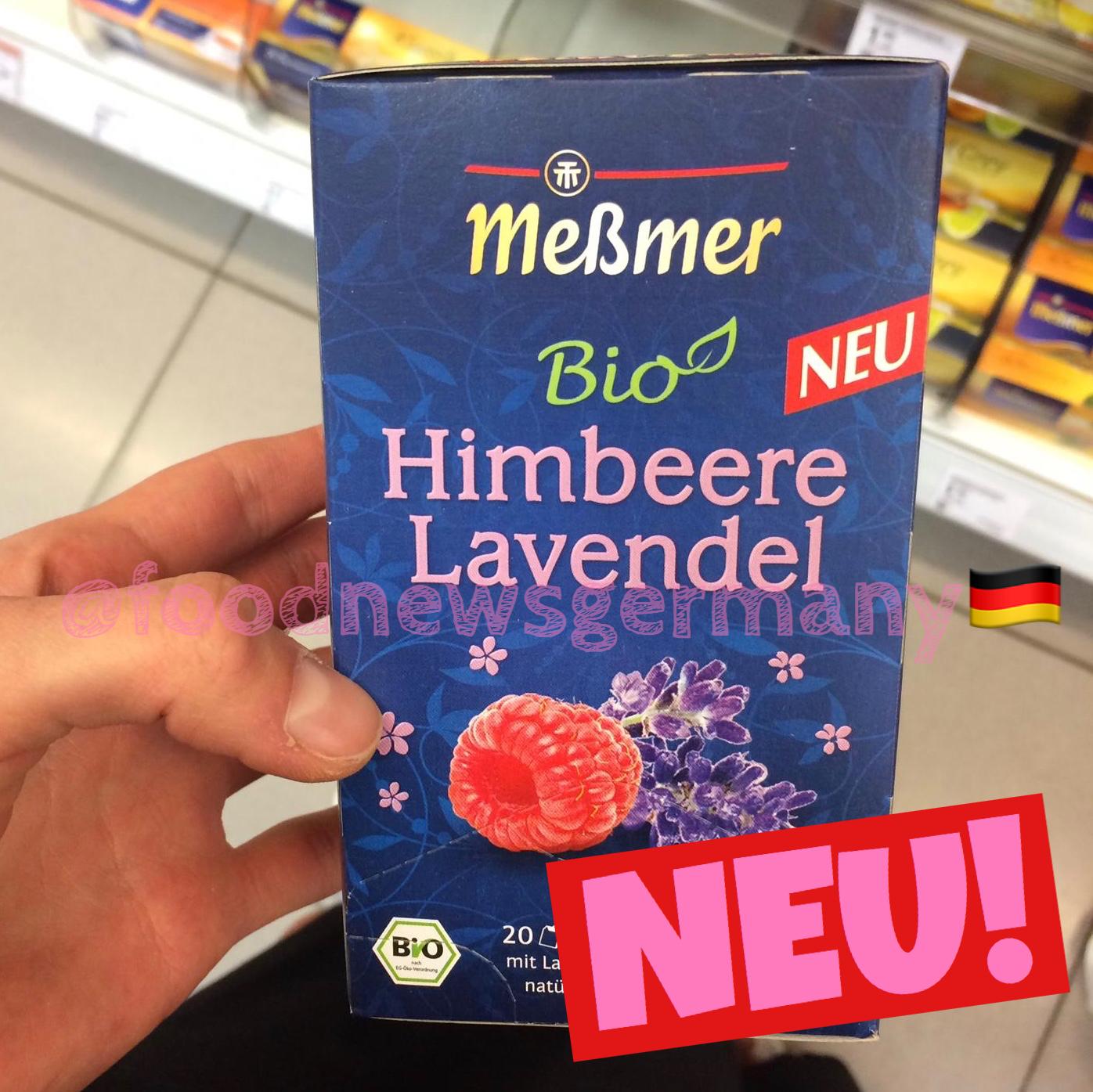 Meßmer Bio Tee Himbeere Lavendel