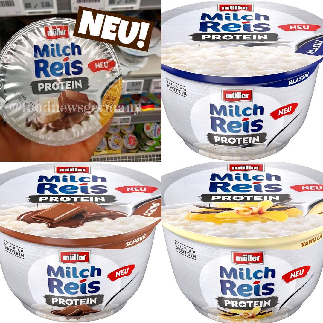Müller Milchreis Protein