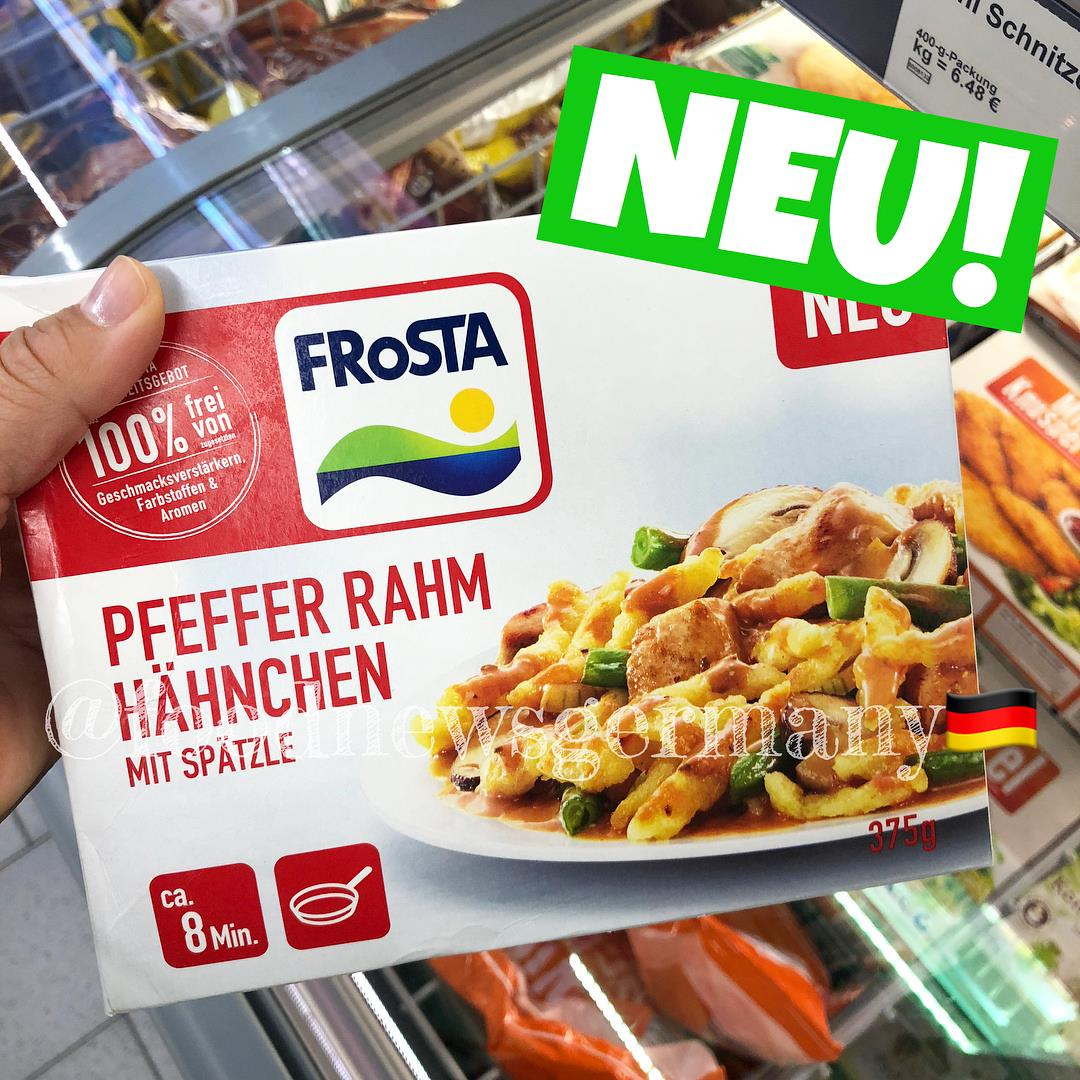 Frosta Pfeffer Rahm Hähnchen