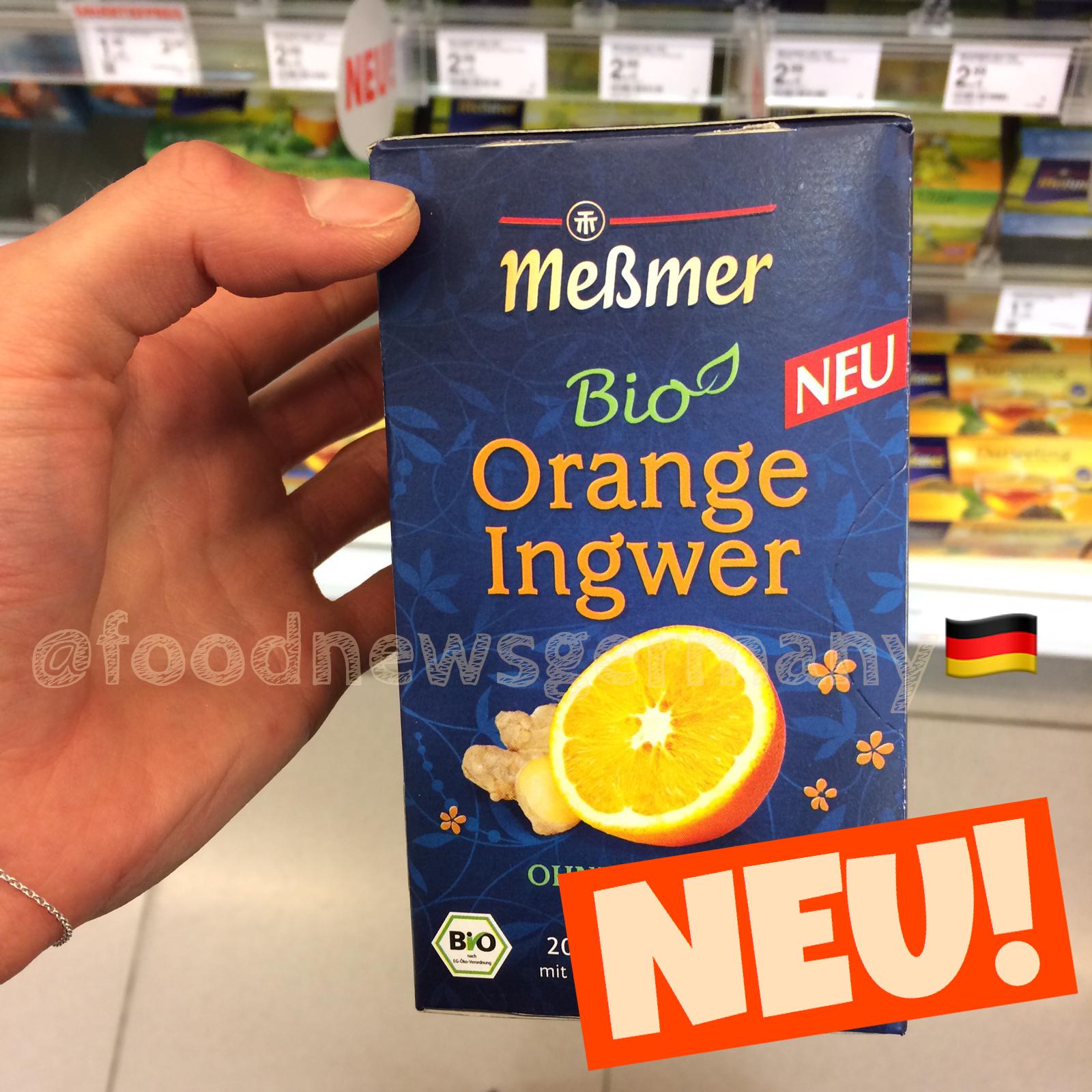 Meßmer Bio Tee Orange Ingwer