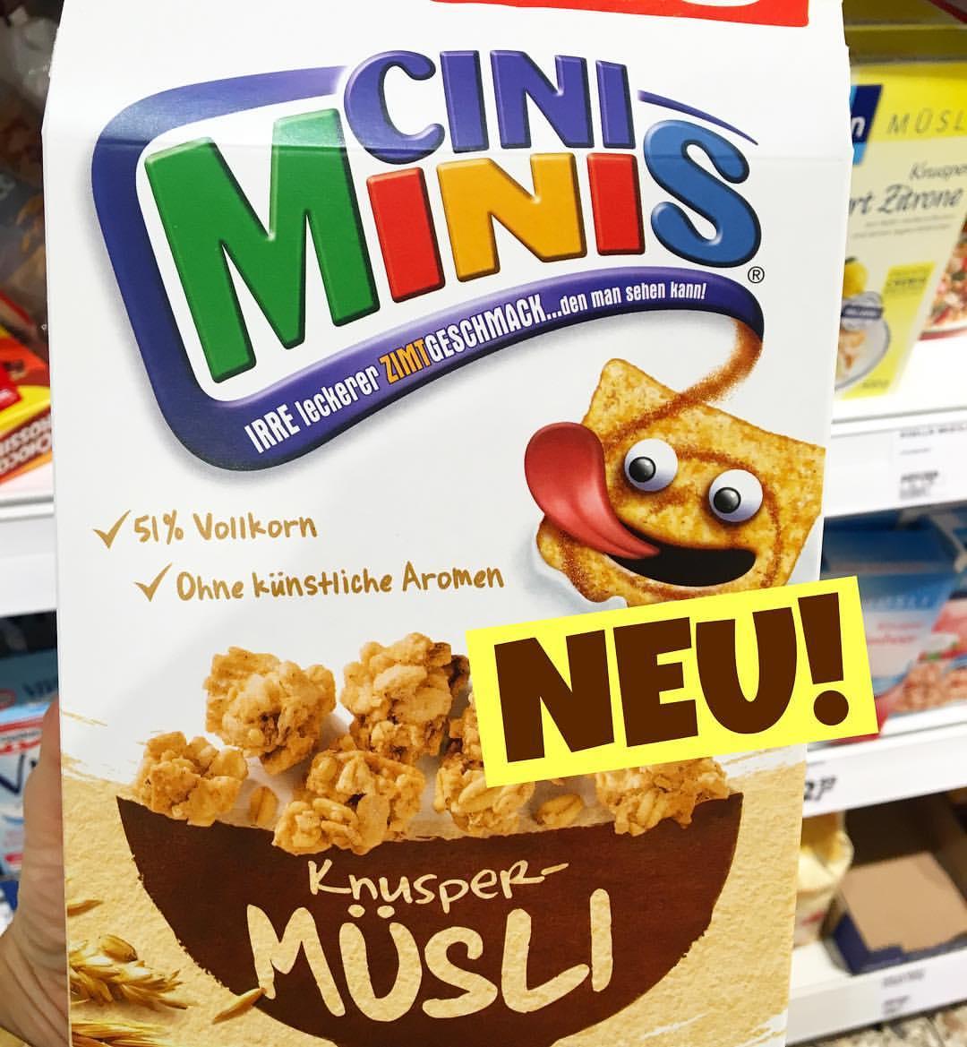 Nestle Cini Minis Knusper Müsli