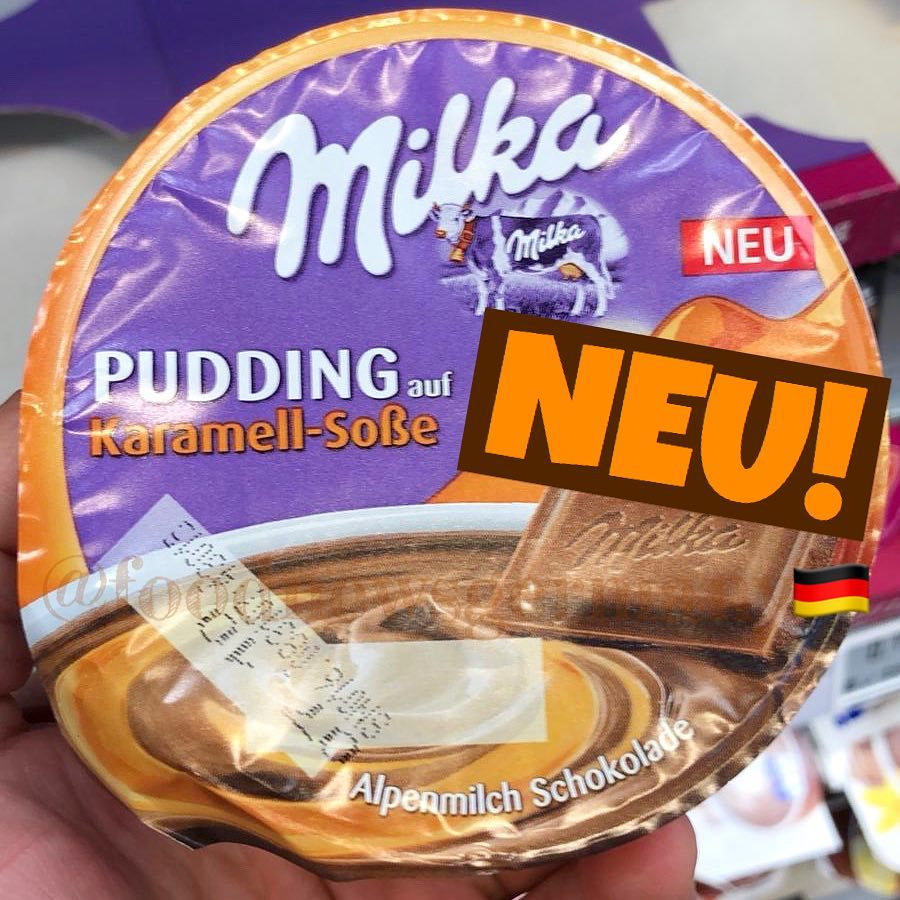Milka Pudding Karamell Soße