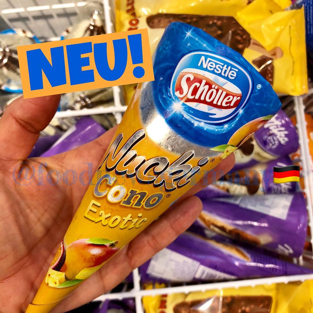 Schöller Nucki Cono Exotic