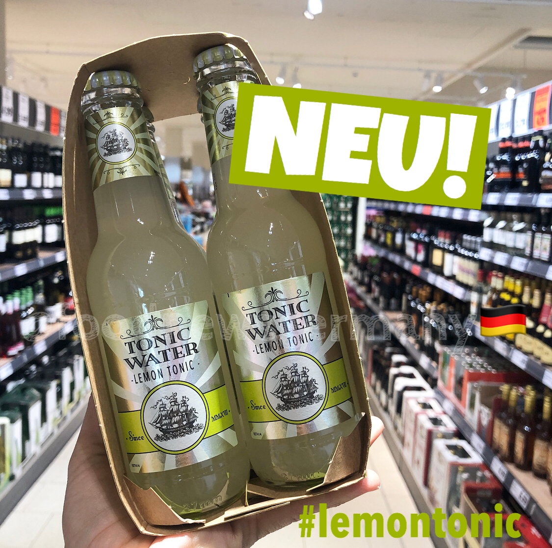 Lidl Tonic Water Lemon