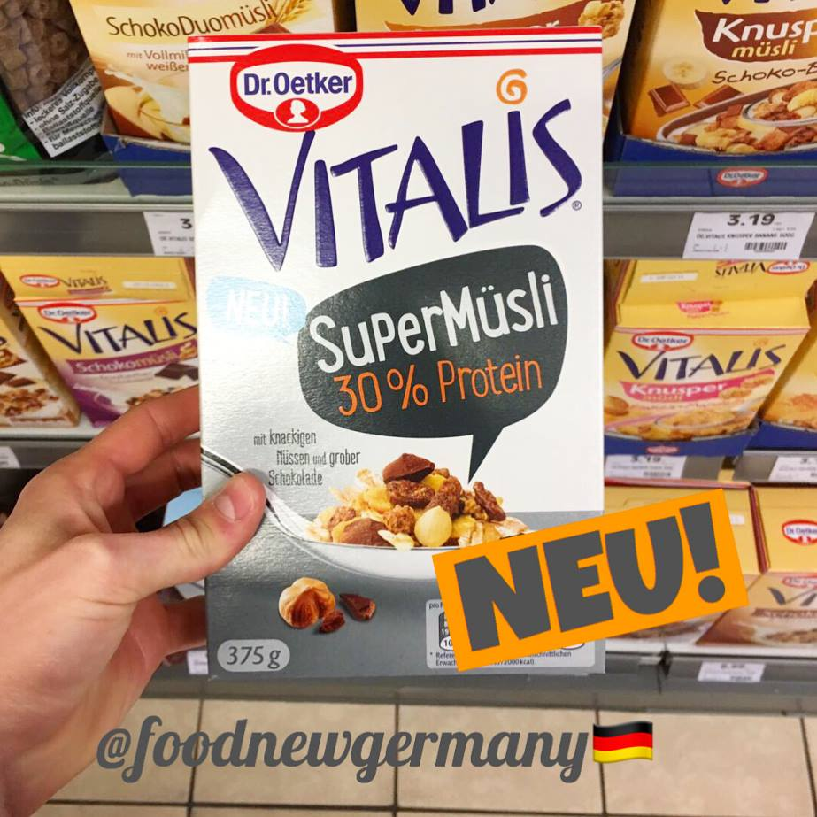 Dr.Oetker Vitalis SuperMüsli 30% Protein
