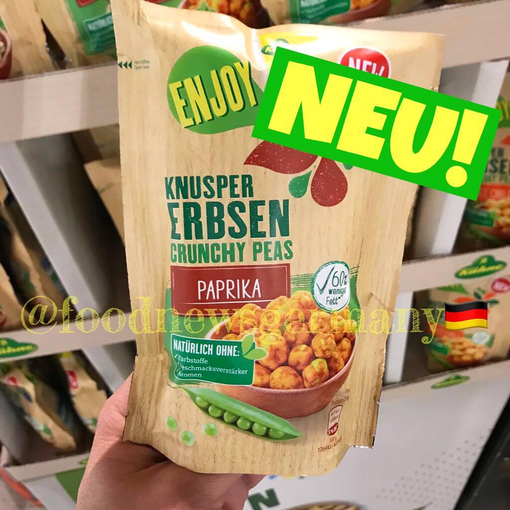 Kühne Enjoy Knusper Erbsen Paprika