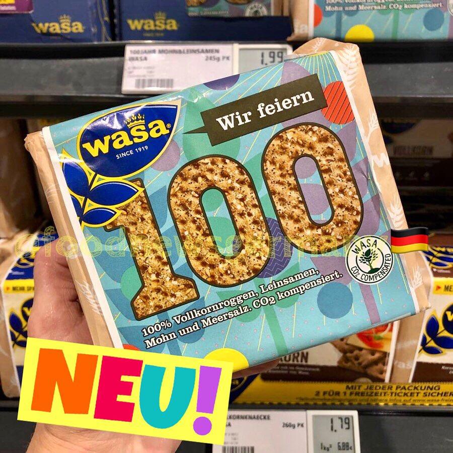 Wasa 100 Jahre Sonder Edition