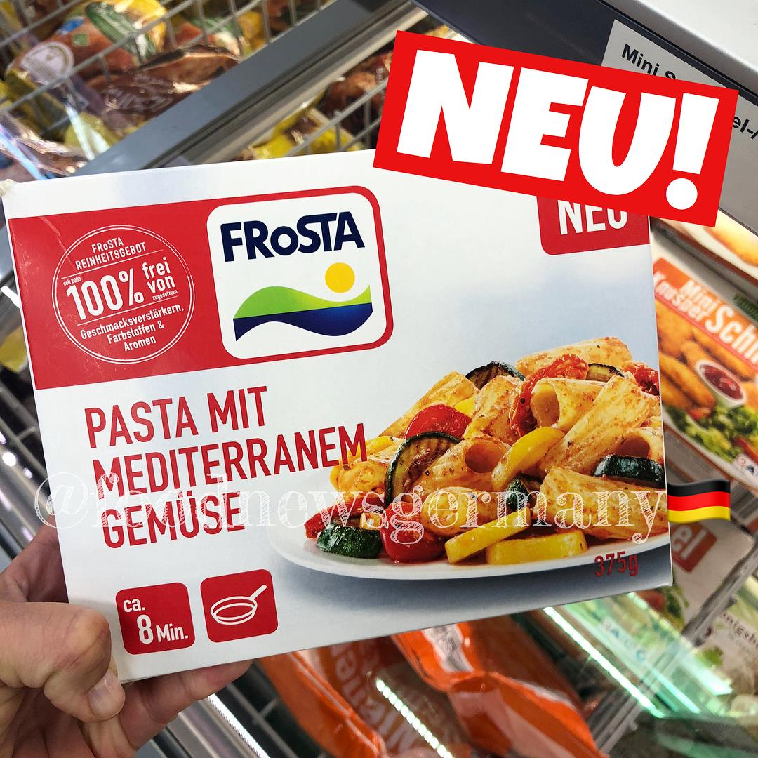 Frosta Pasta mit mediterranem Gemüse