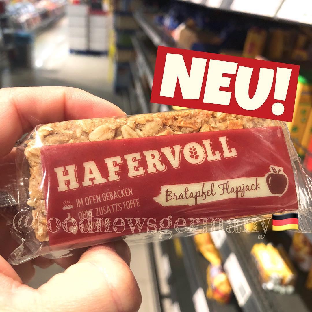 HAFERVOLL BRATAPFEL FLAPJECK