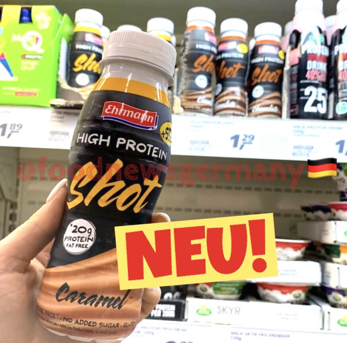 Ehrmann High Protein Shot Caramel