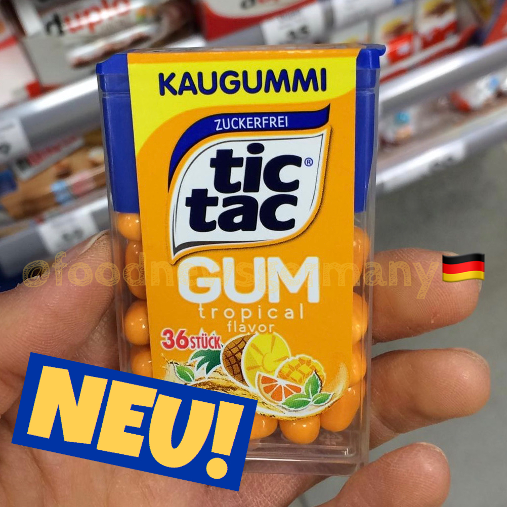 Tic Tac Gum Tropical