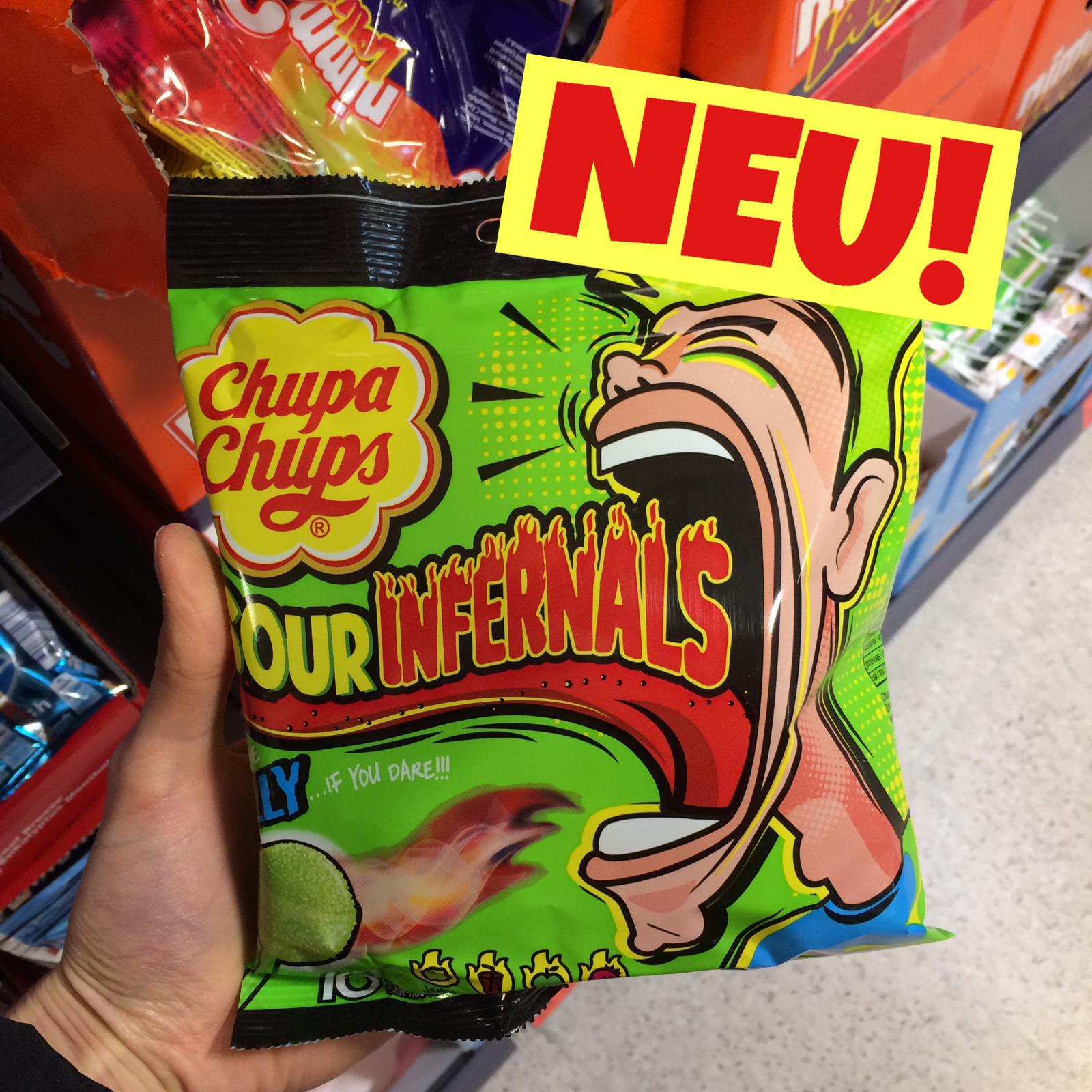 Chupa Chups Sour Invernals