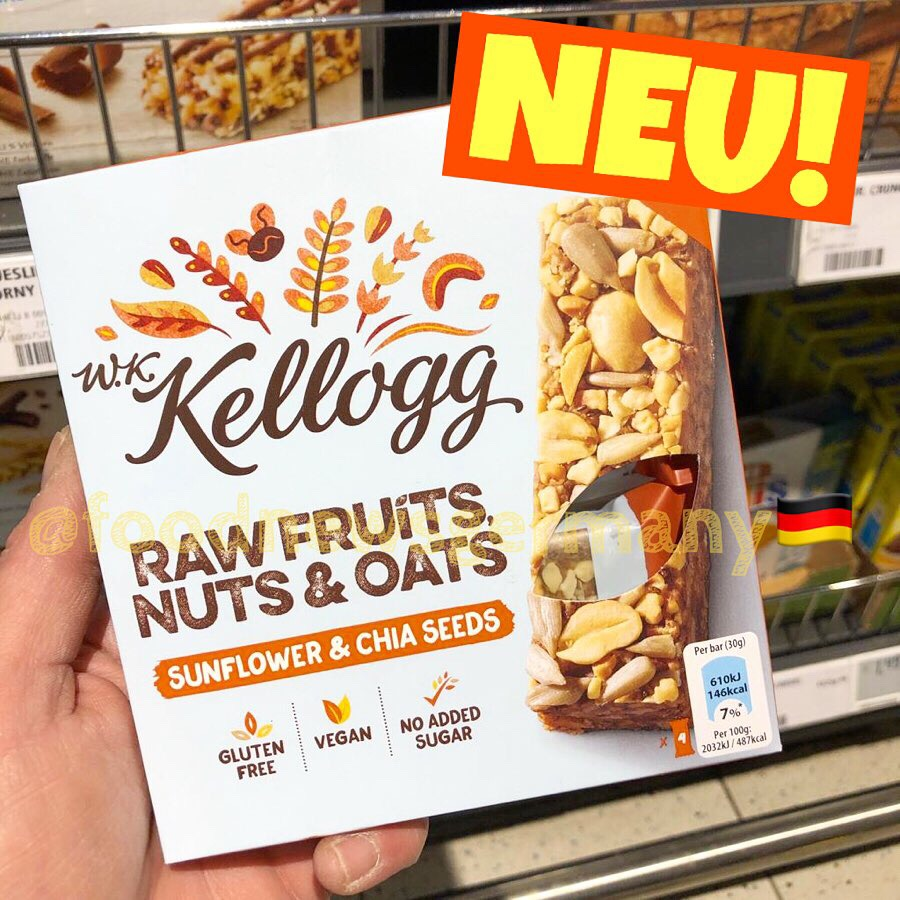 Kellogg Raw Fruits Nuts & Oats