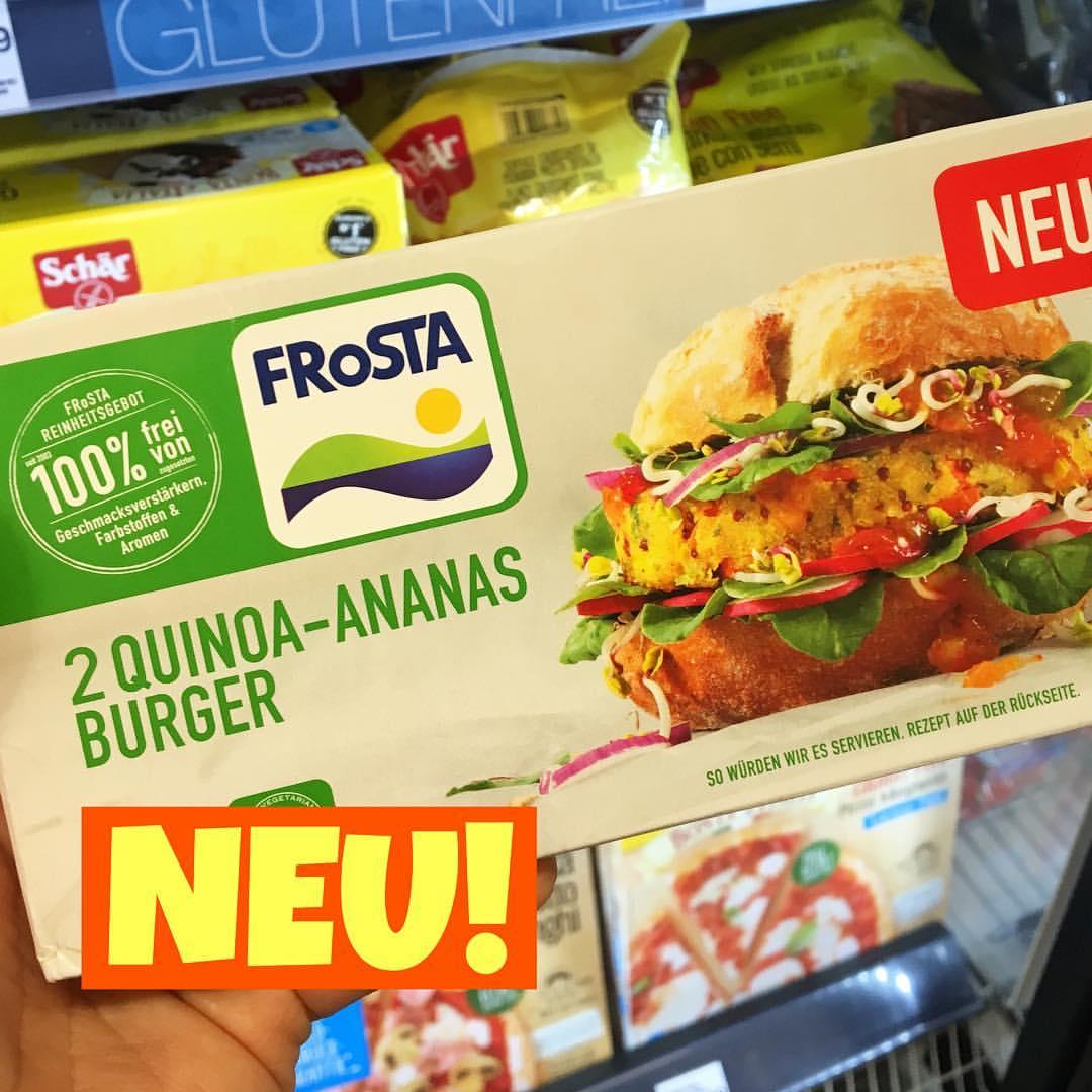 Frosta Veggie Burger Quinoa-Ananas