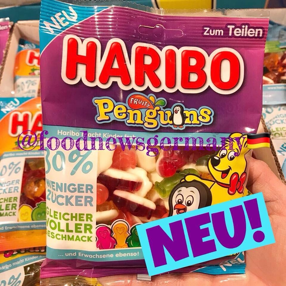 Harirbo Penguins weniger Zucker