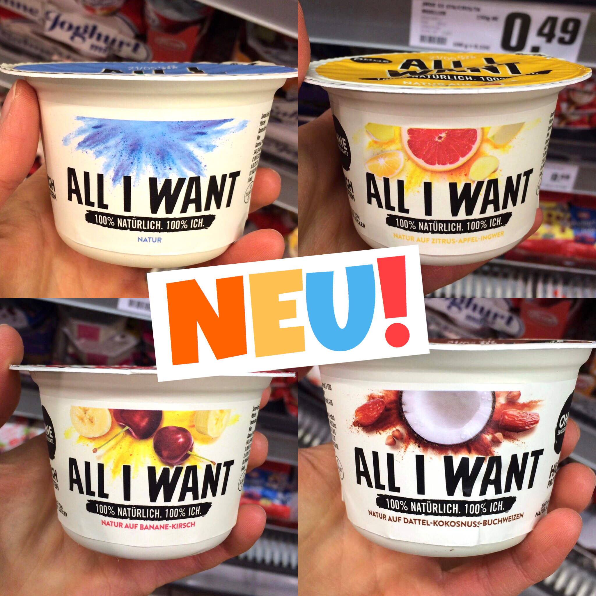 Danone All I want