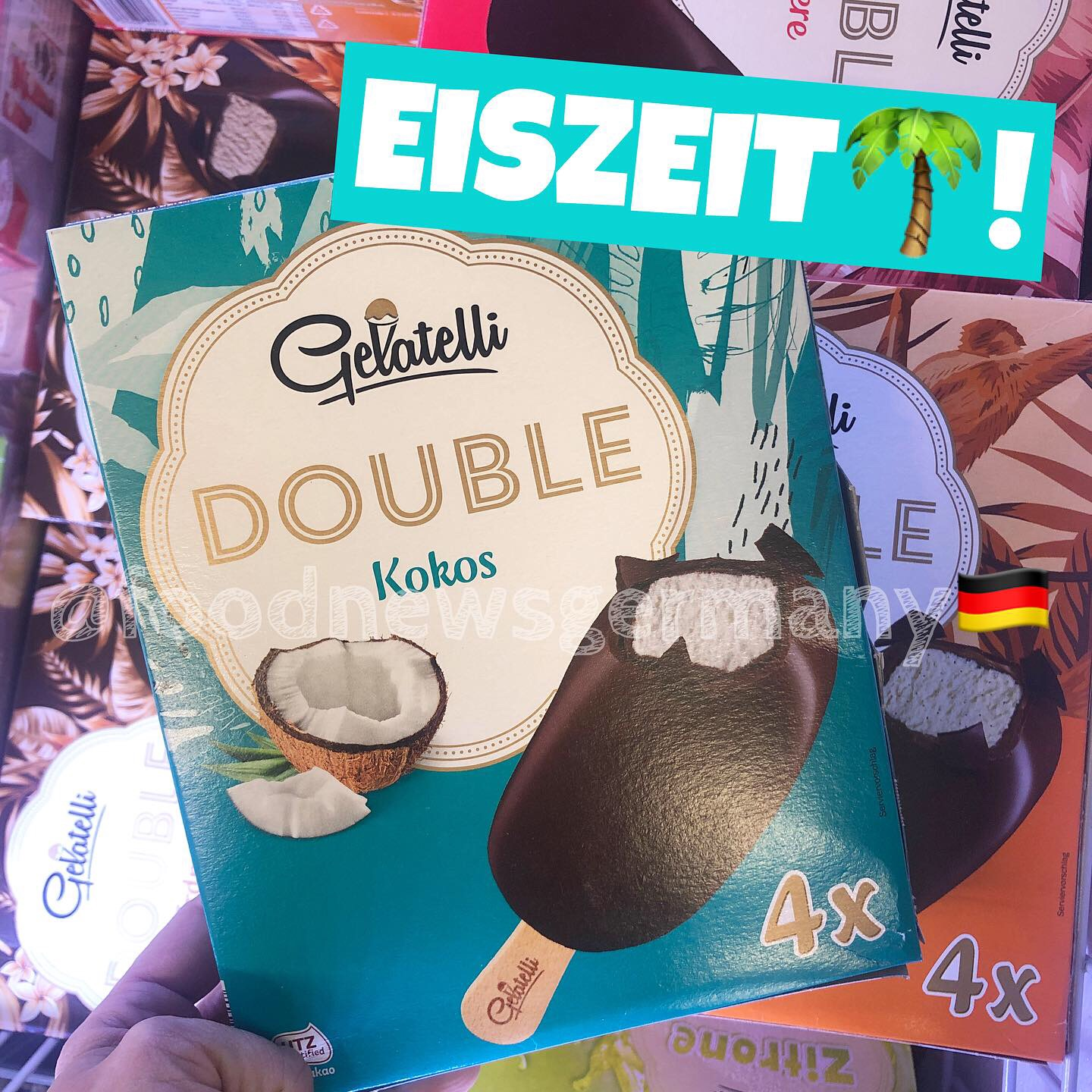Lidl Gelatelli Eis