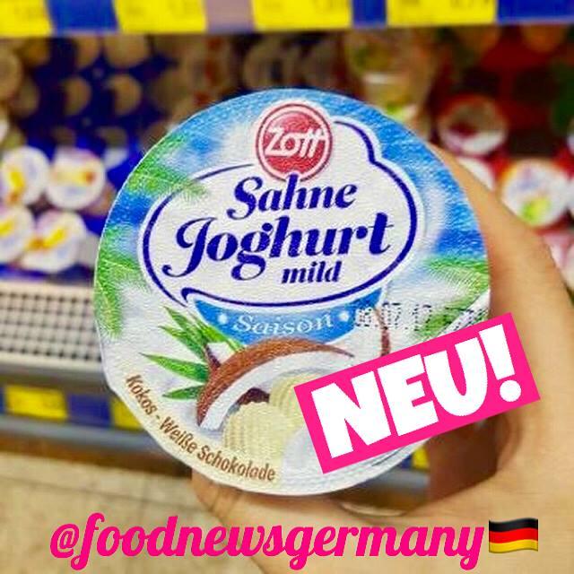 Zott Sahnejoghurt Kokos-Weiße Schokolade