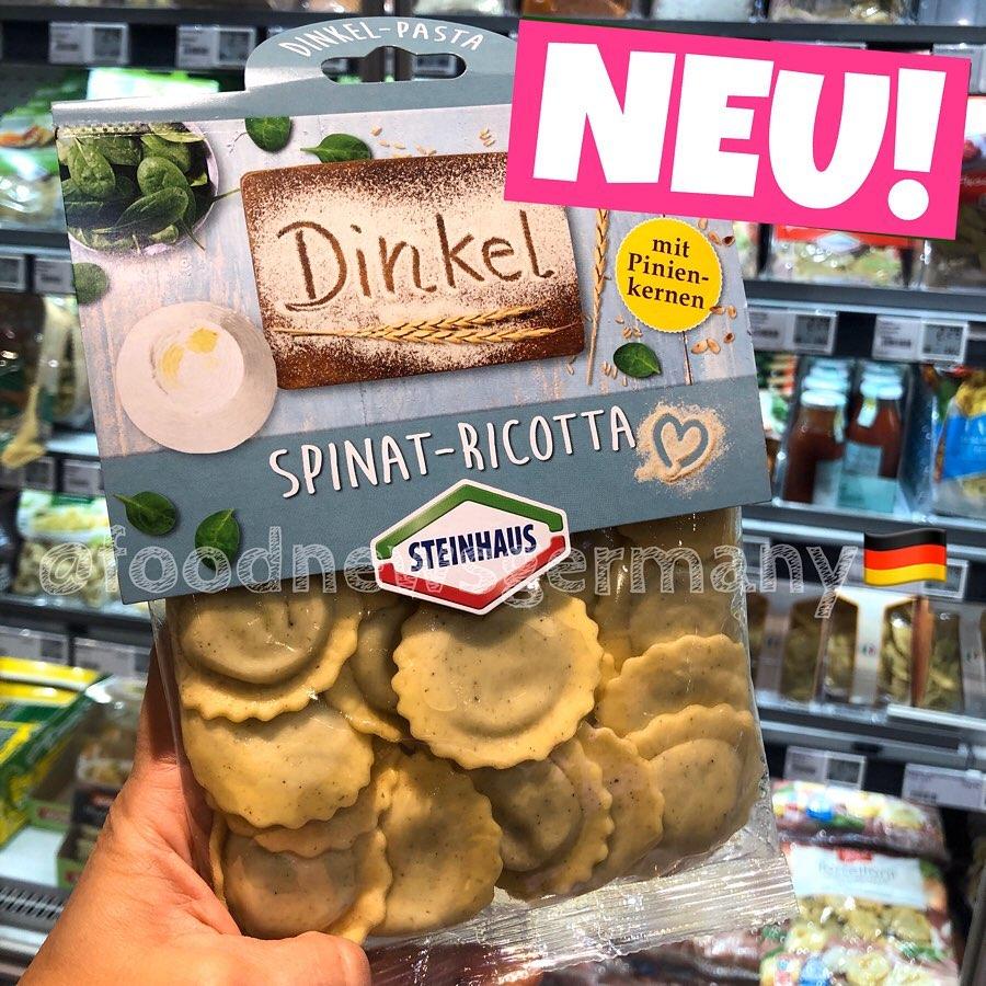 Steinhaus Dinkel Spinat-Ricotta Pasta