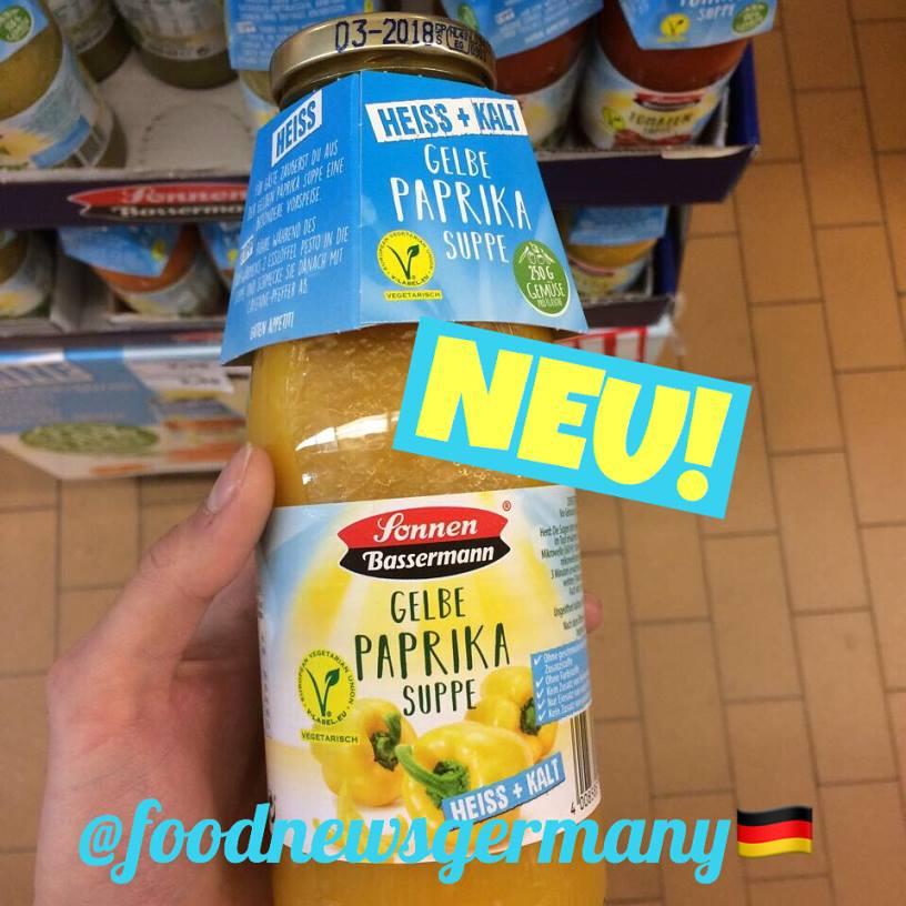 Sonnen Bassermann Gelbe Paprika Suppe