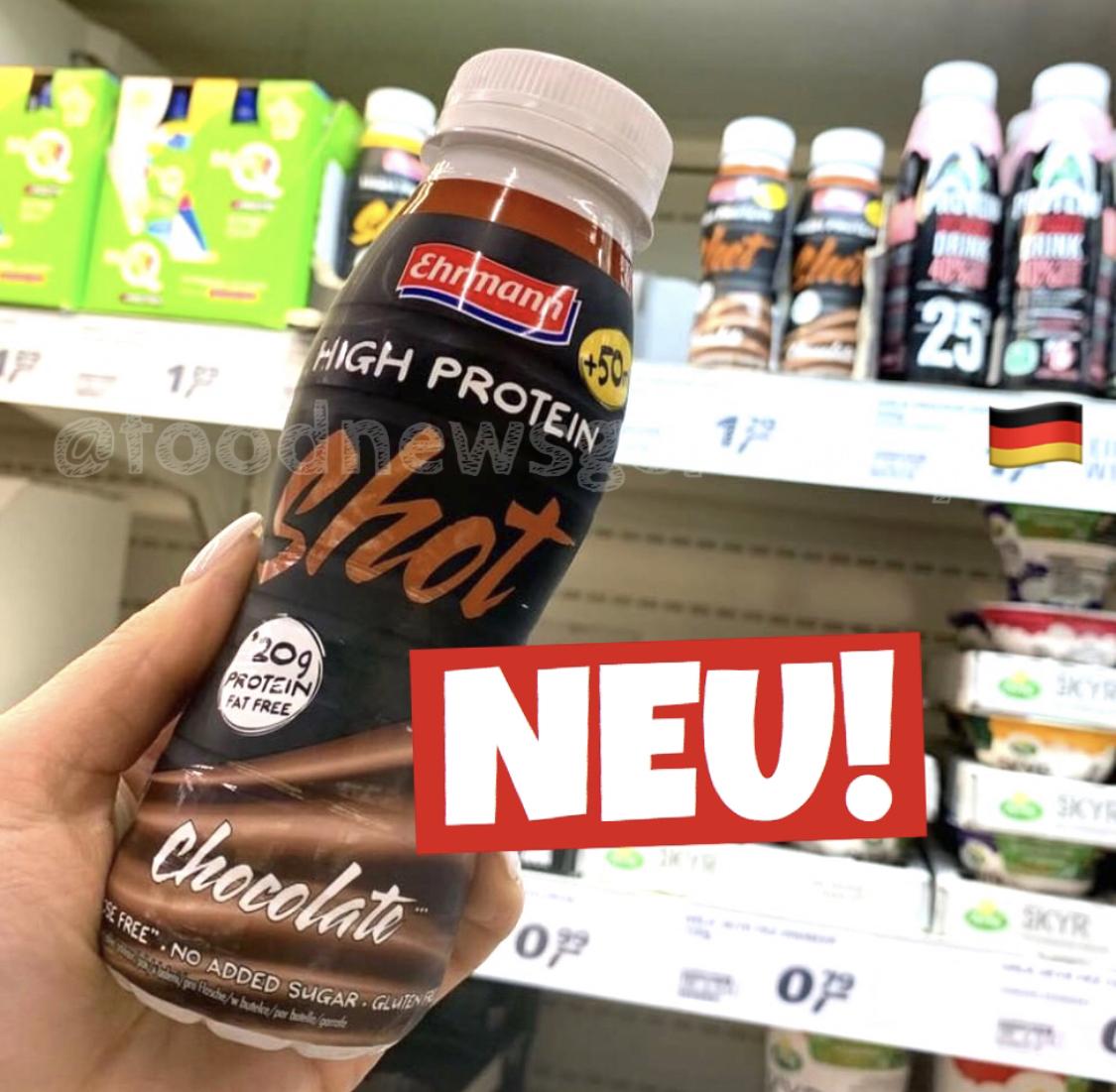 Ehrmann High Protein Shot Chocolate