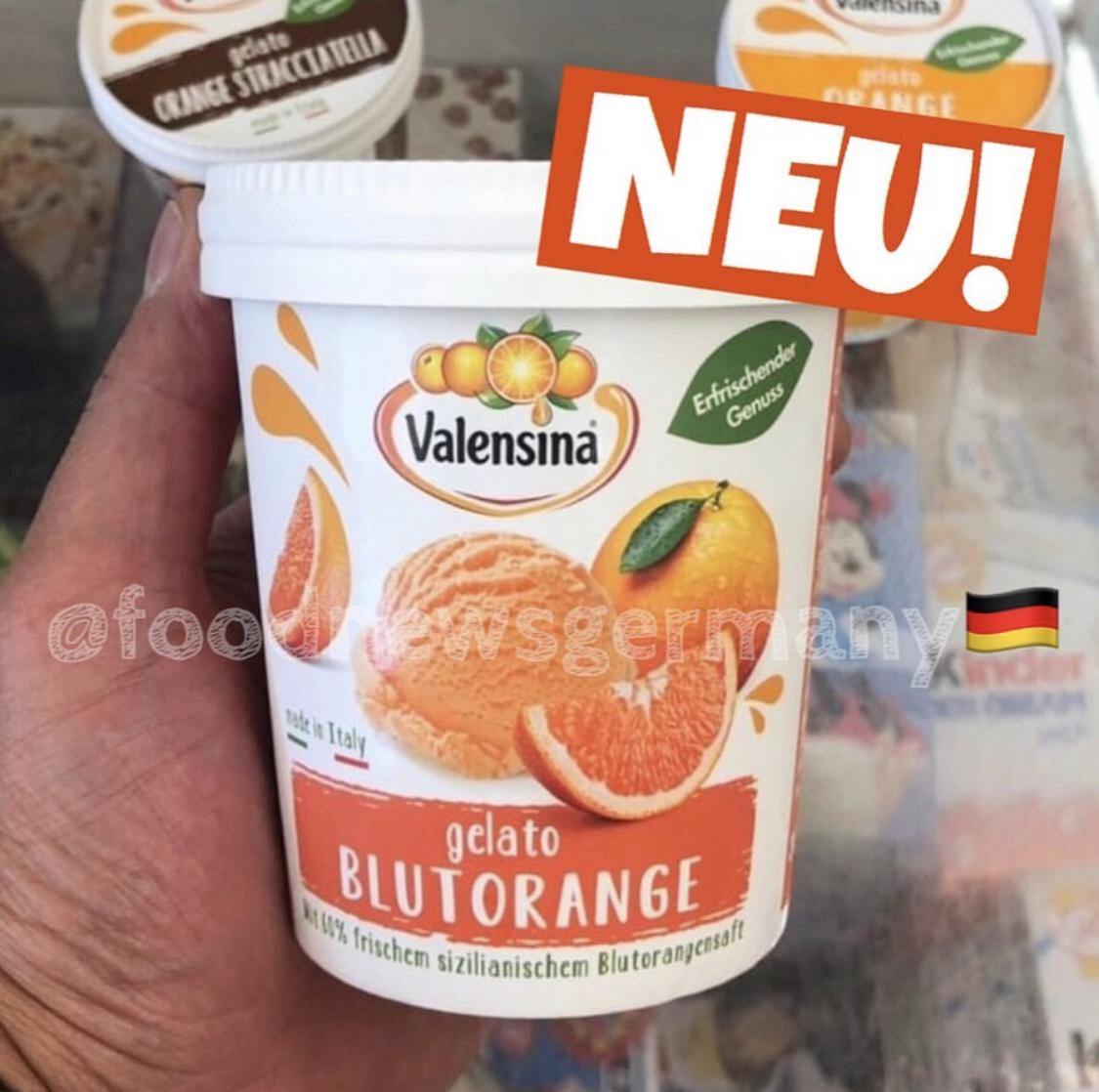 Valensina Eis Gelato Blutorange