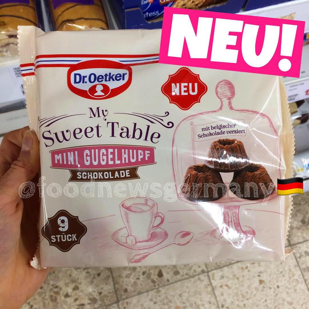 """Dr. Oetker """"My Sweet Table"""" Mini Gugelhupf Schokolade"""