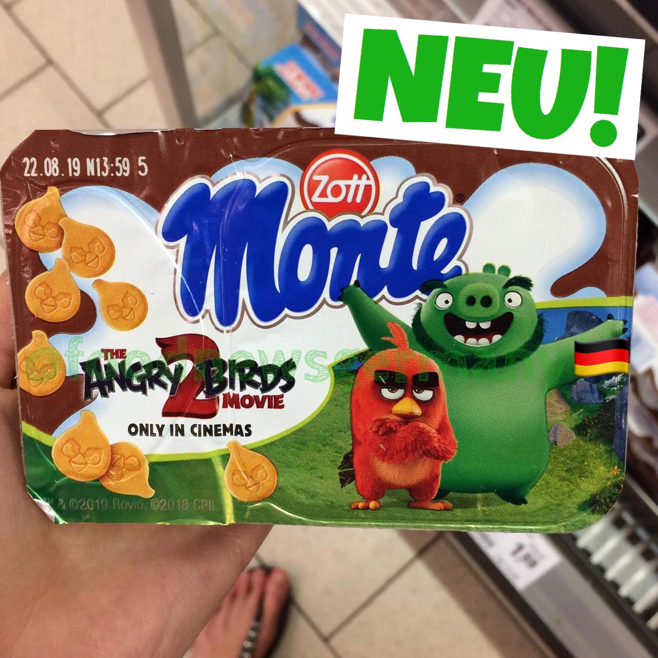 Zott Monte Angry Birds 2