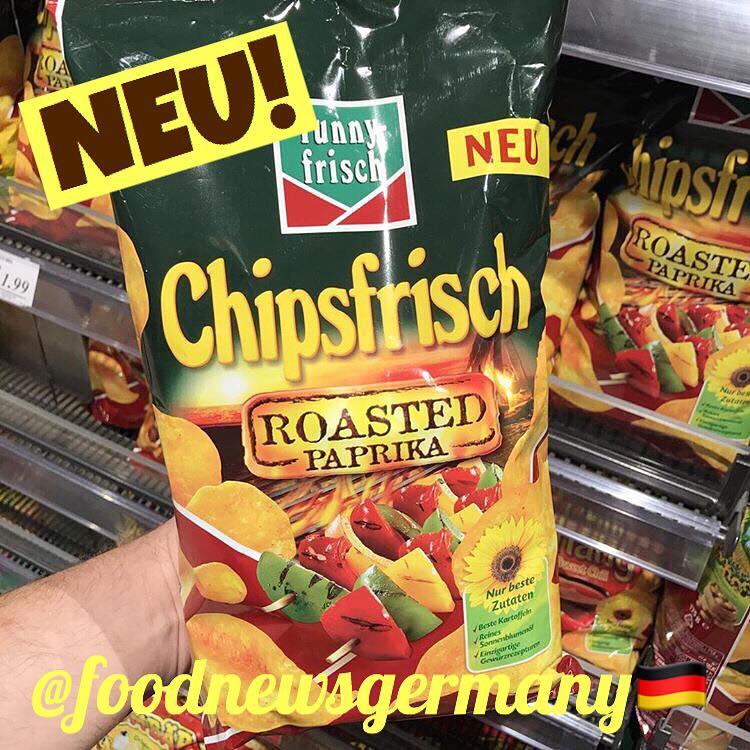Funny frisch Chipsfrisch Roasted Paprika