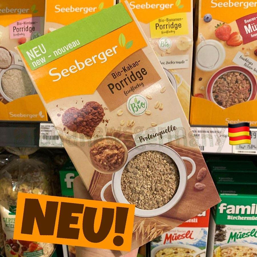 Seeberger Bio-Kakao Porridge