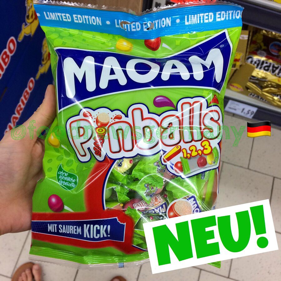 Maoam Pinballs Sour Edition