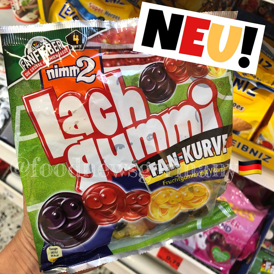 Nimm2 Lachgummi Fan Kurve WM Edition