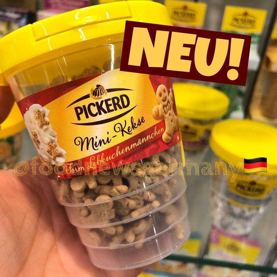 Pickerd Mini Kekse Lebkuchenmännchen
