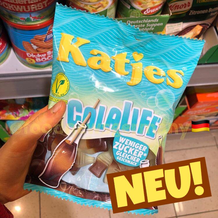 Katjes Colalife weniger Zucker