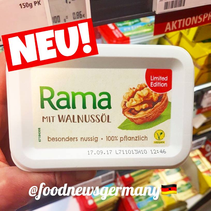 Rama mit Walnussöl