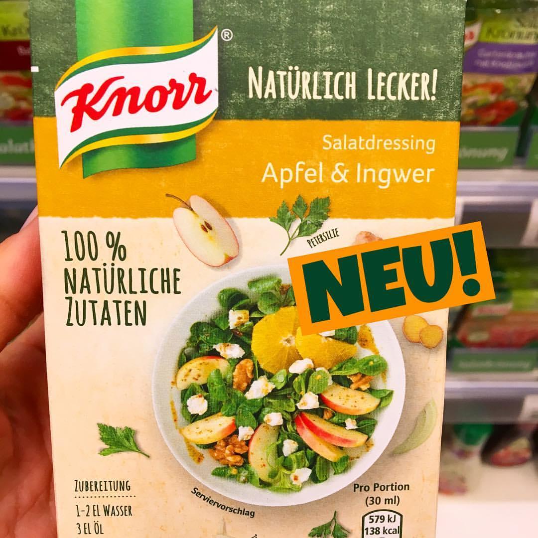 Knorr natürlich lecker Salatdressing Apfel-Ingwer