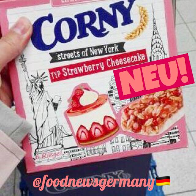 Corny streets of New York Typ Strawberry Cheesecake