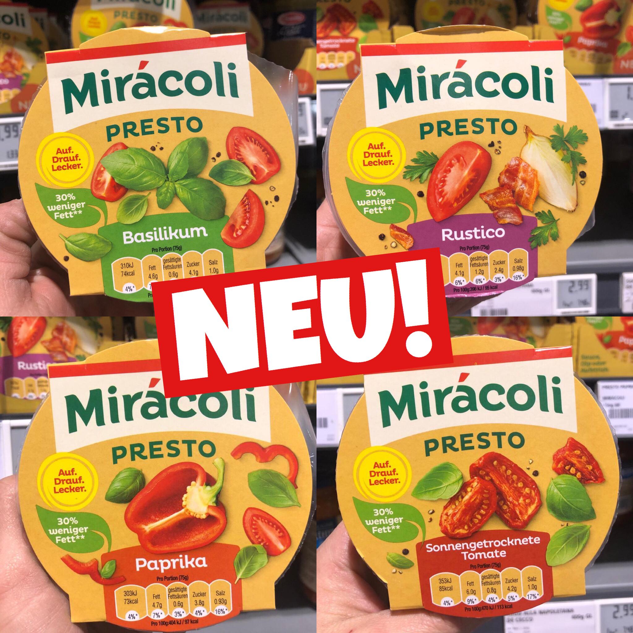 Miracoli Saucen