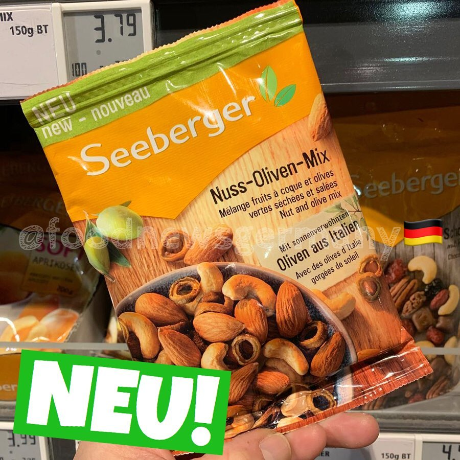 Seeberger Nuss-Oliven-Mix