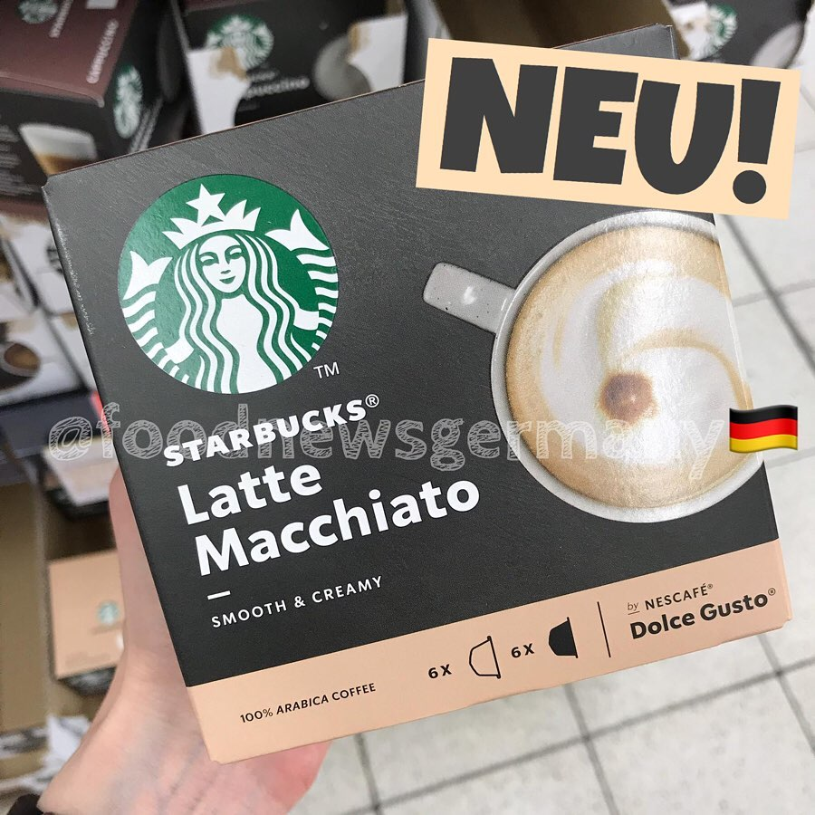Starbucks Latte Macchiato Dolce Gusto