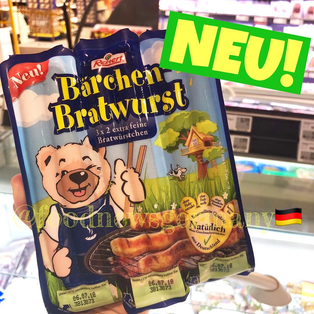 Reinert Bärchen-Bratwurst