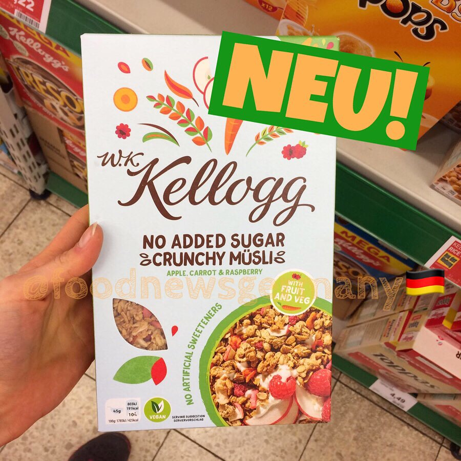 Kellogg No Added Sugar Crunchy Müsli